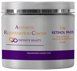 skin care product retinol pads