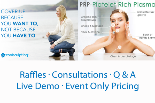 coolsculpting PRP platelet rich plasma